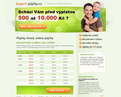 screen expert-pujcky.cz